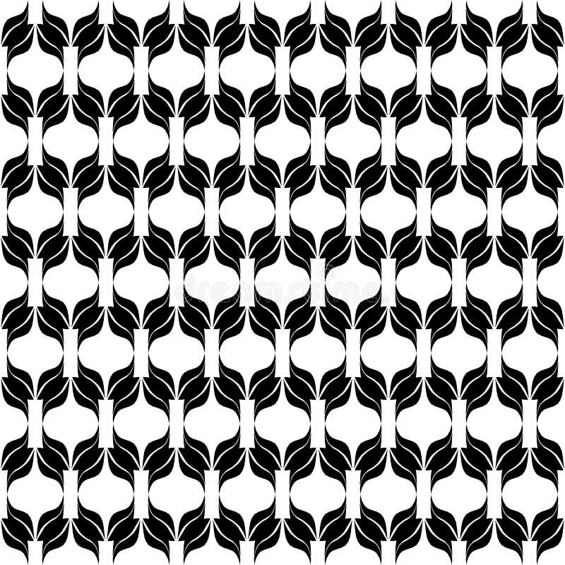 Monochrom repeted deseniowy projekt zdjęcia stock