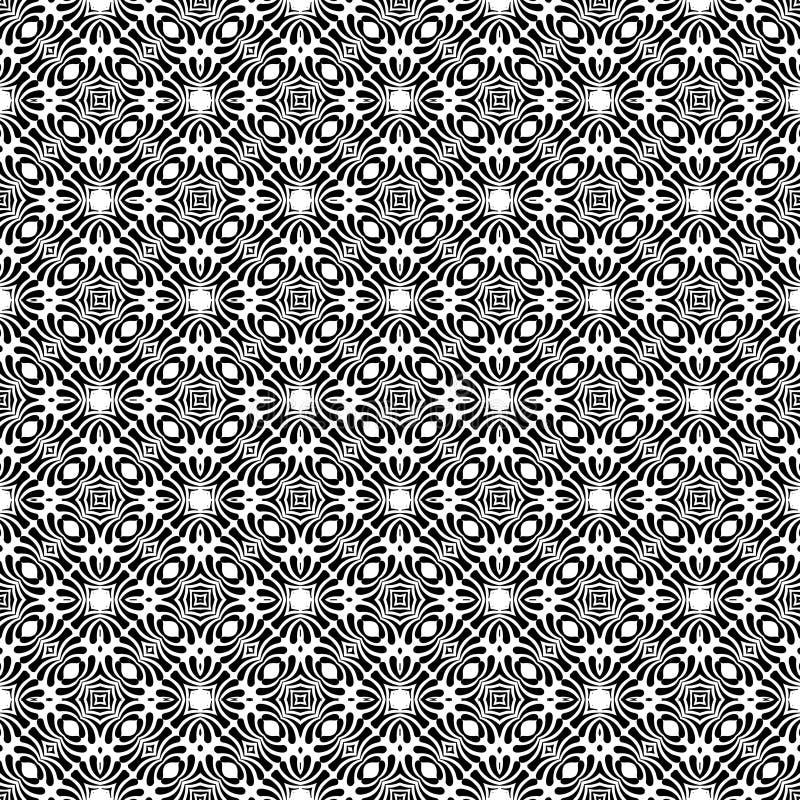 Monochrom repeted deseniowy projekt zdjęcie stock
