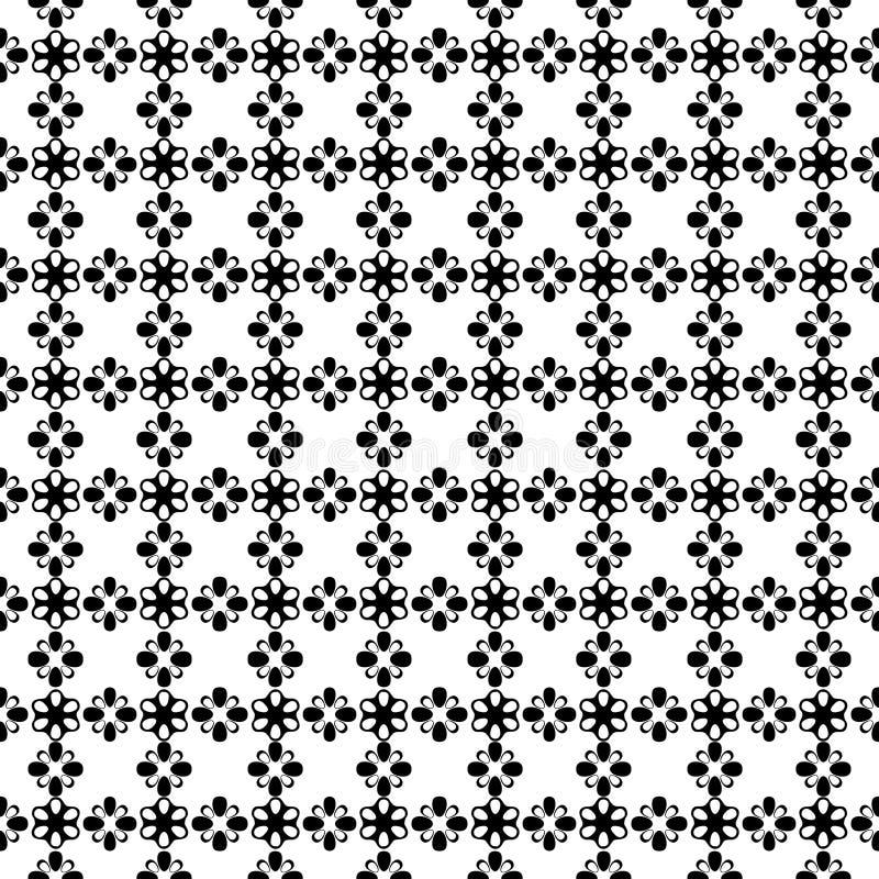 Monochrom repeted deseniowy projekt fotografia stock