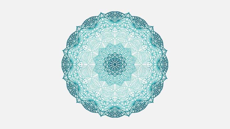 Monochromatic mandala zdjęcie royalty free