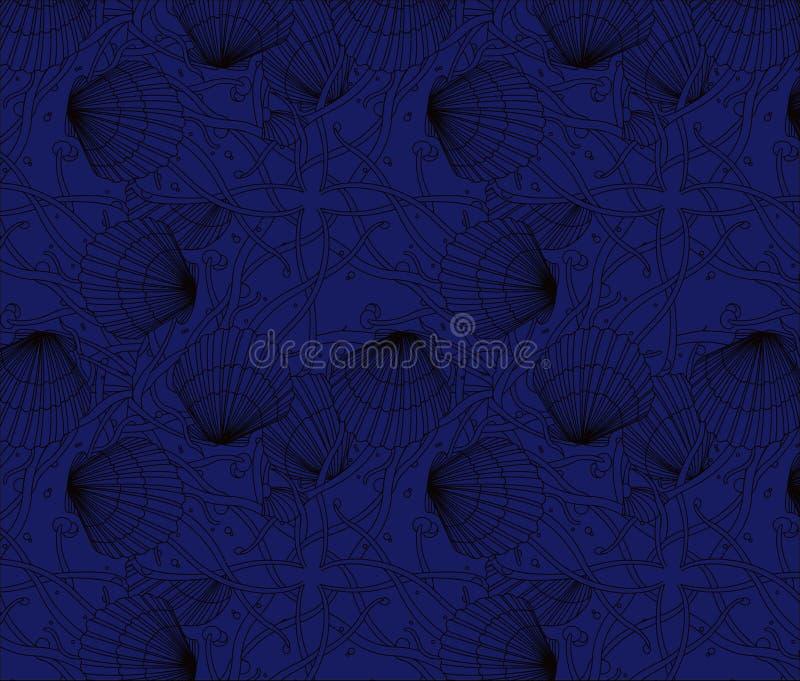 Monochromatyczne skorupa wzoru serie zdjęcie royalty free