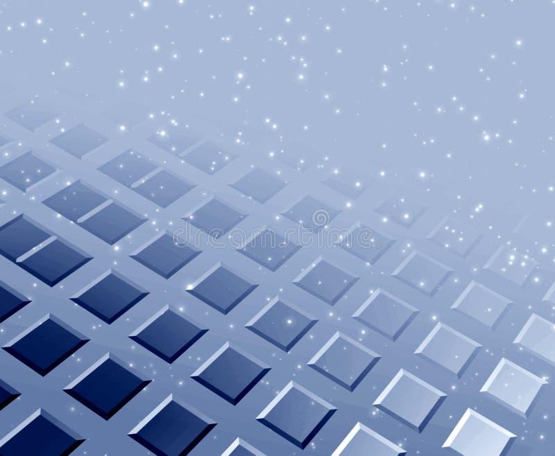 monochromatyczny tła square ilustracja wektor