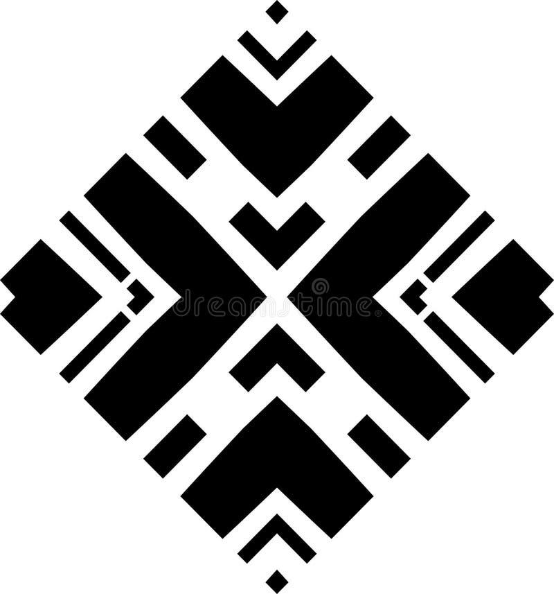 Monochrome безшовная картина в белой предпосылке бесплатная иллюстрация