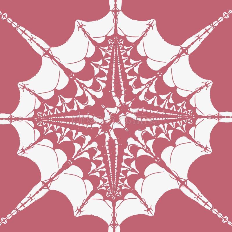 Monochrome картина фрактали конспекта tatoo бесплатная иллюстрация