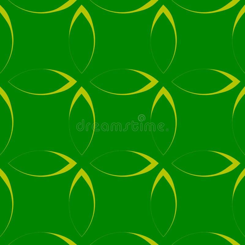 Download Monochrome повторяющийся картина с формами лепестка/цветка/лист Иллюстрация вектора - иллюстрации насчитывающей линии, минимально: 81805996