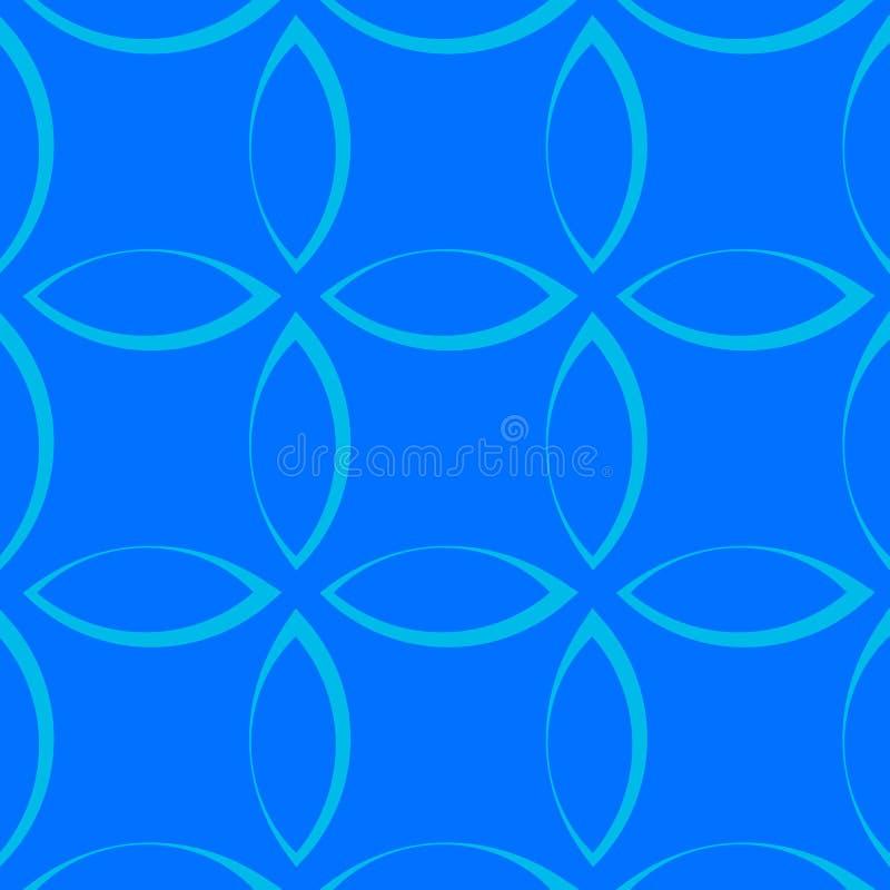 Download Monochrome повторяющийся картина с формами лепестка/цветка/лист Иллюстрация вектора - иллюстрации насчитывающей бесконечно, непрерывно: 81806010