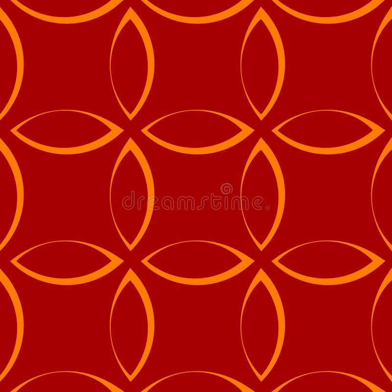 Download Monochrome повторяющийся картина с формами лепестка/цветка/лист Иллюстрация вектора - иллюстрации насчитывающей флористическо, падение: 81806027