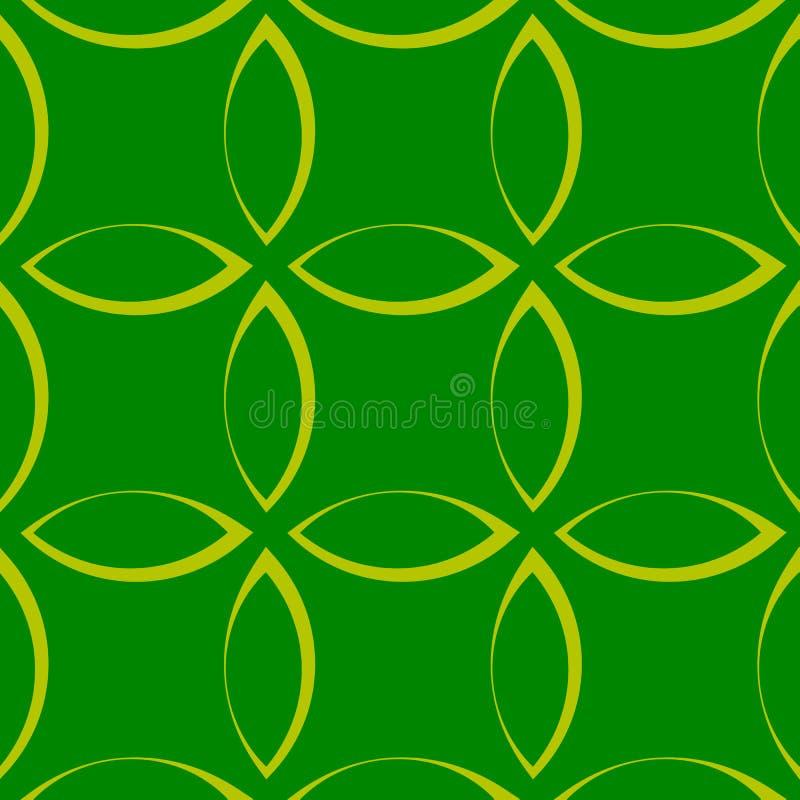 Download Monochrome повторяющийся картина с формами лепестка/цветка/лист Иллюстрация вектора - иллюстрации насчитывающей контур, непрерывно: 81806041
