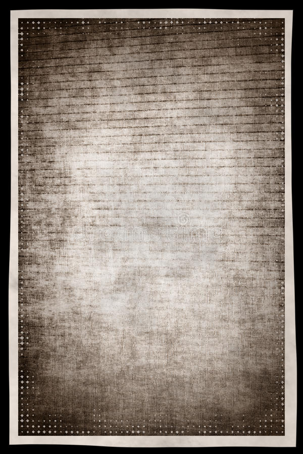 Monochrome предпосылка конспекта grunge с границей fr влияния фильма иллюстрация вектора