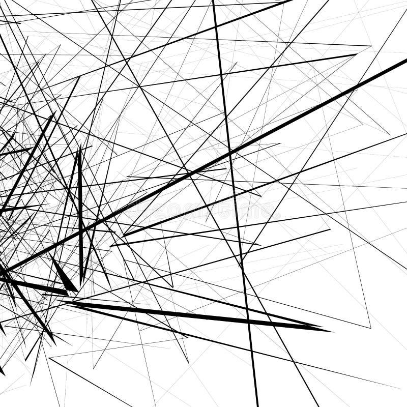 Download Monochrome случайные хаотические нервные линии резюмируют художническую картину Иллюстрация вектора - иллюстрации насчитывающей royalty, прямо: 81807031