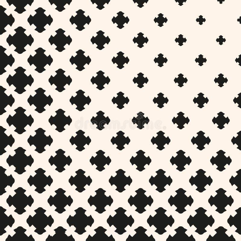 Monochrome текстура, постепенно переходной эффект, высекла кресты бесплатная иллюстрация