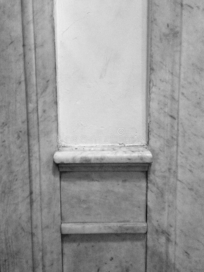 Monochrome architectural wall stock images