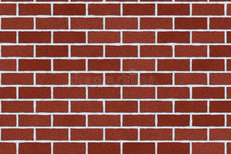 Monochrome brown brick wall abstract background. Texture of bricks.Template design for web banners vector illustration