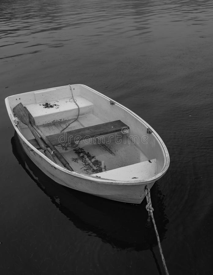 Boat full of water royalty free stock images