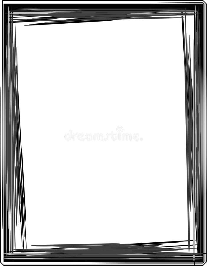 Monochrome Framework Stock Photo