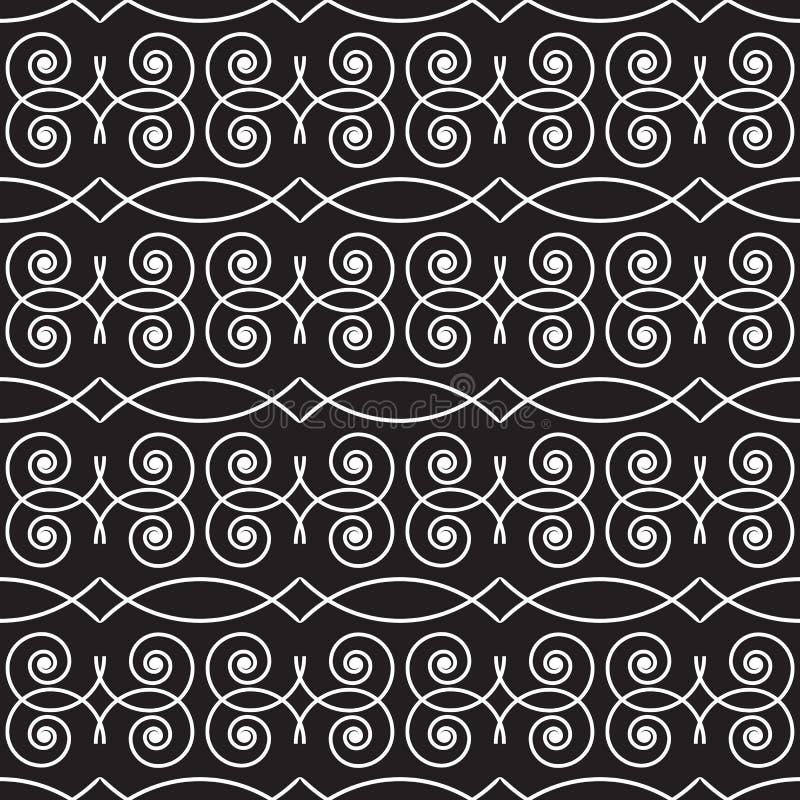 Download Monochrome Géométrique Sans Couture De Modèle Illustration de Vecteur - Illustration du génial, simple: 56477885