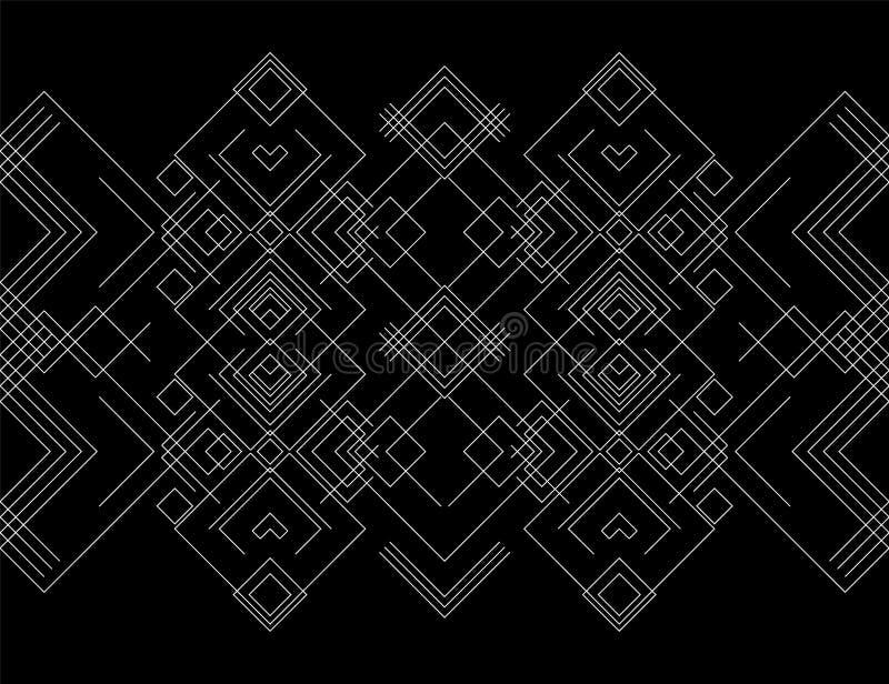 Geometric logotype or emblem stock image