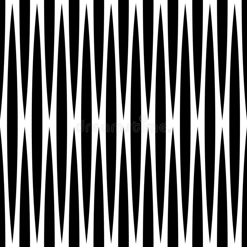 Free Monochrome Geometric Pattern With Lines. Seamlessly Repeatable. Stock Photo - 81800890