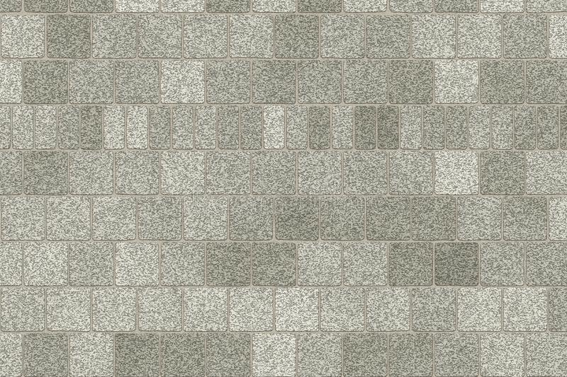 Monochrome gray brick wall abstract background. Texture of bricks.Template design for web banners stock illustration
