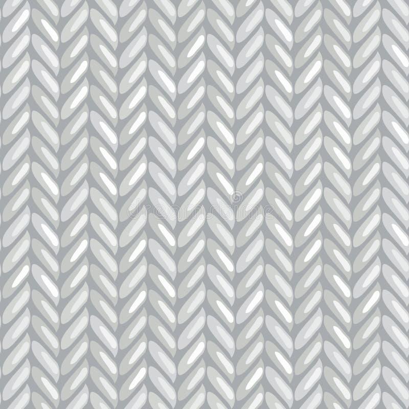 Knitting pattern vector illustration