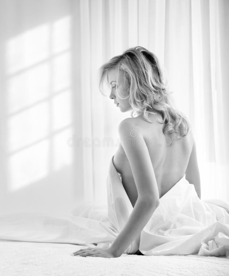 Download Monochrome morning stock photo. Image of dress, copy - 13124296