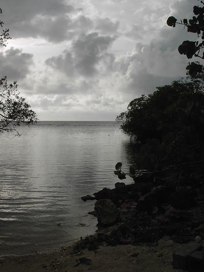 Free Monochrome Ocean Royalty Free Stock Image - 106886