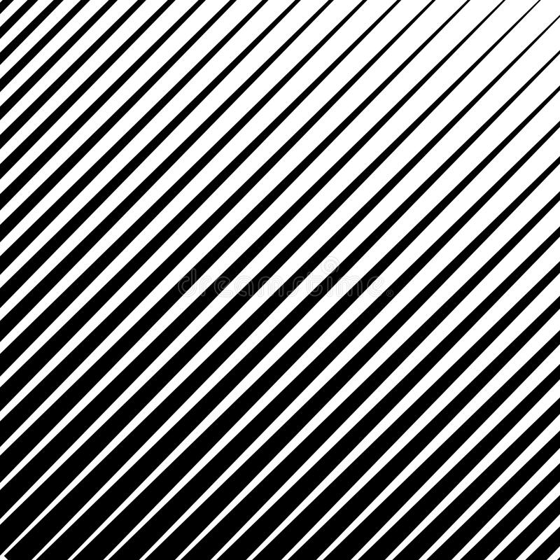 Monochrome, parallel lines abstract geometric pattern. EPS 10 vector stock illustration