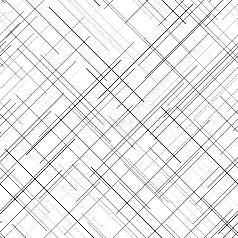 Line Texture Black And White : Monochrome seamless pattern diagonal random lines
