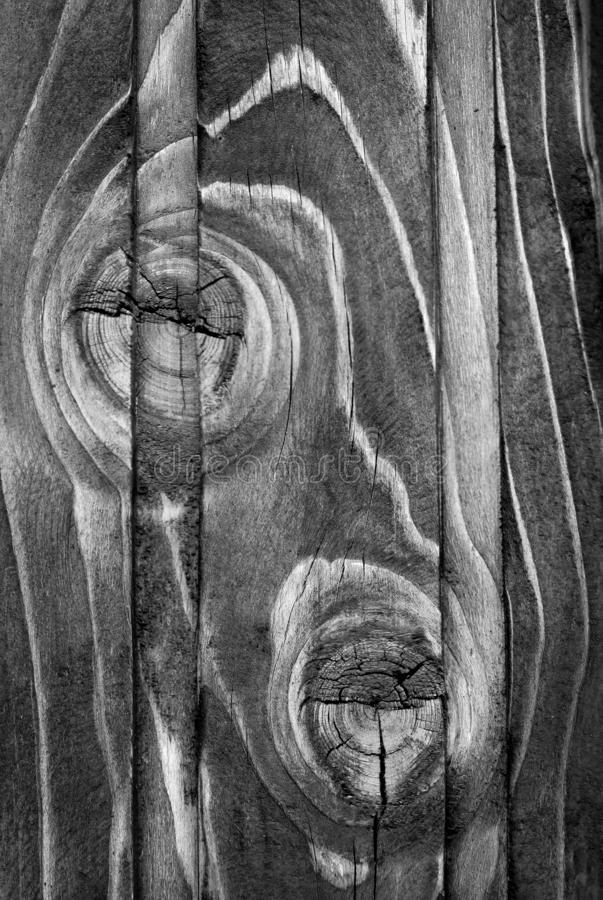 Monochrome wooden surface royalty free stock image