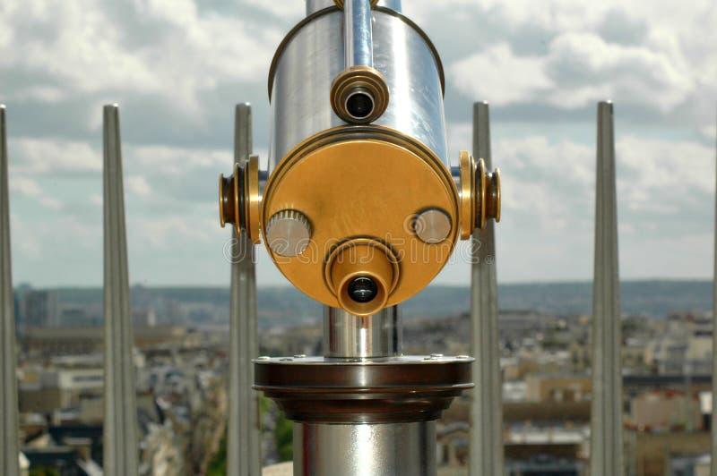 Monocular Teleskopnahaufnahme stockfotografie