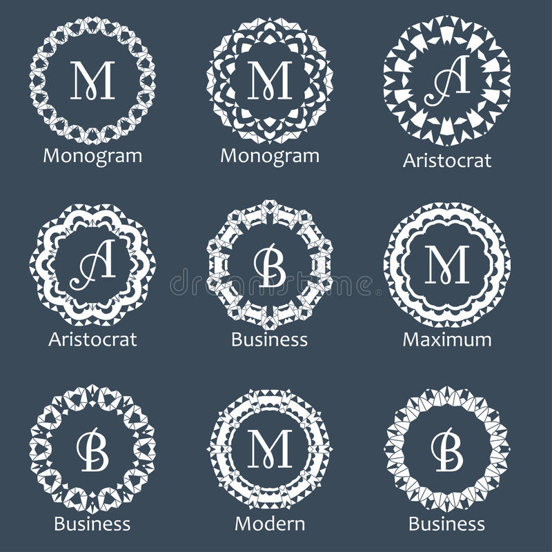 list of synonyms and antonyms of the word monogram template
