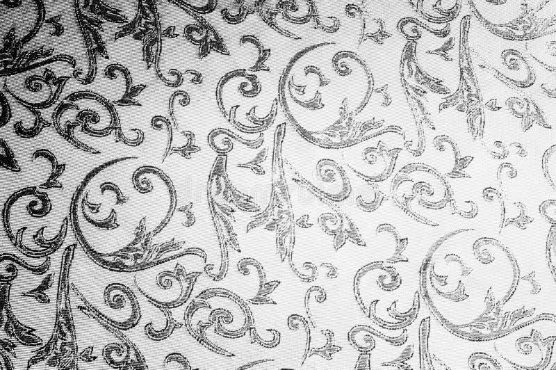 monograma real del paño de seda Rebecca 36 El oro y el lujo son imágenes de archivo libres de regalías