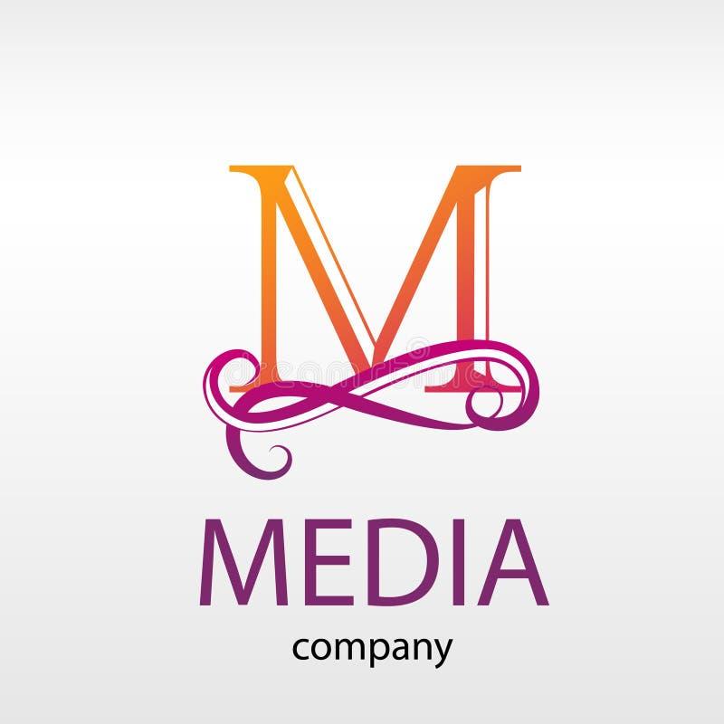 Monogramme moderne de lettre de logo de conception pour des affaires illustration libre de droits