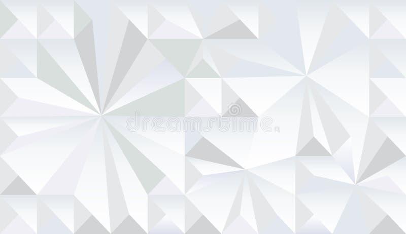 Monokrom modell för geometrisk fractal vektor illustrationer