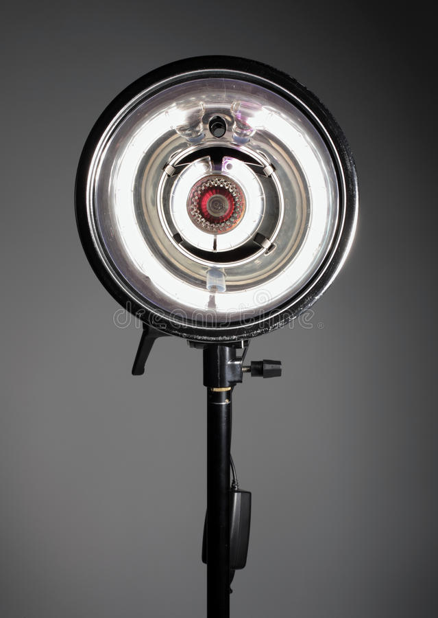 Monolight de studio photographie stock