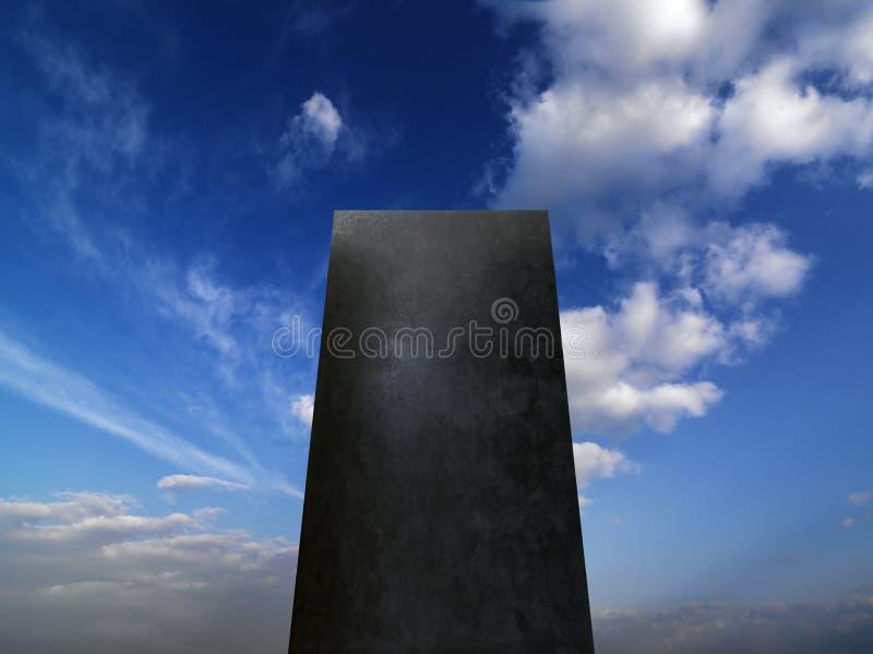 Monolithe photo stock