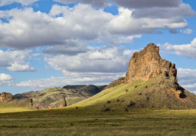 Monolithe, Arizona du nord-est images libres de droits