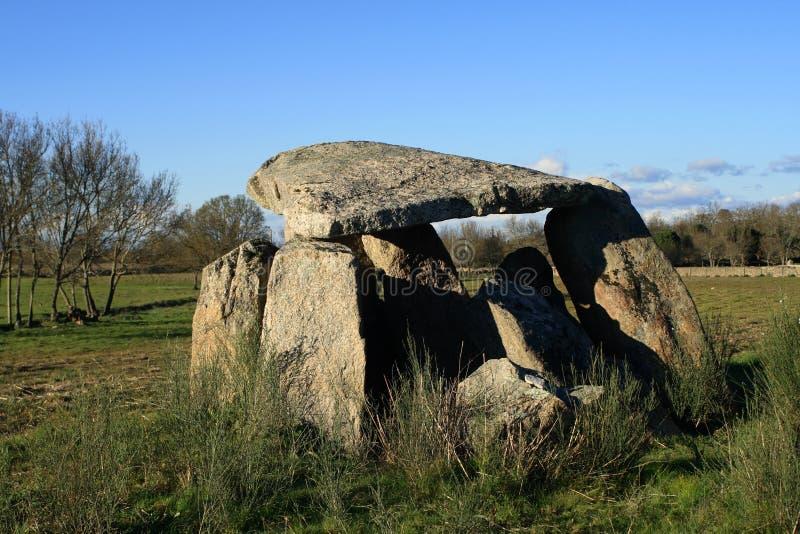 monolitisk dolmen royaltyfria bilder