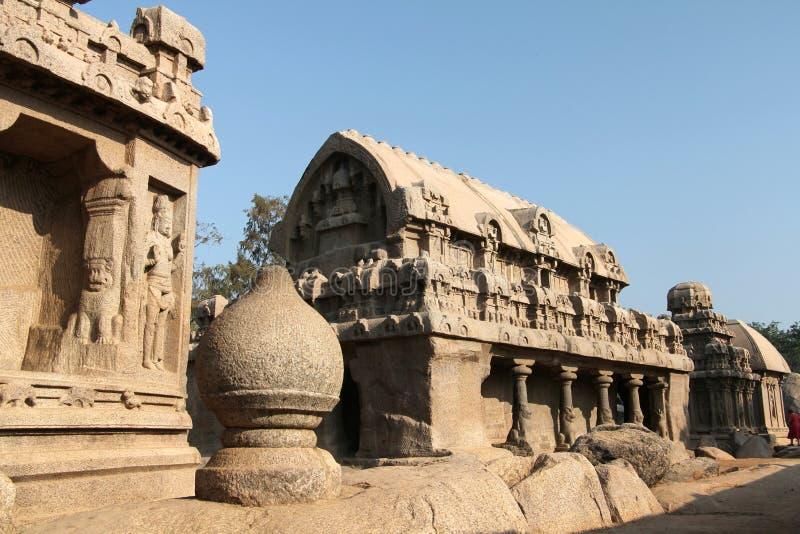Monolitisk tempel arkivfoto