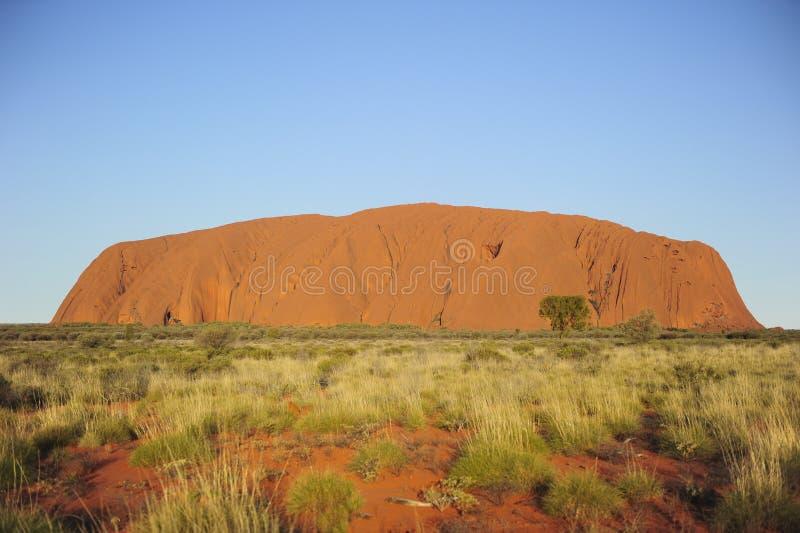 Monolito della roccia di Ayers immagini stock libere da diritti