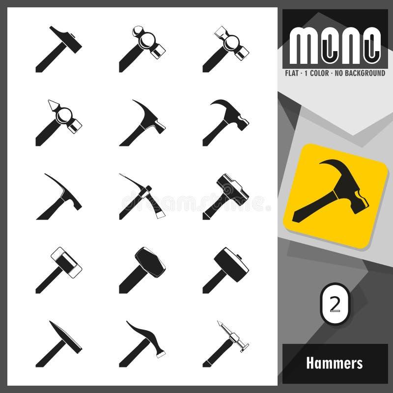 Download Monopictogrammen - Hamers 2 Vector Illustratie - Illustratie bestaande uit struik, schoenmaker: 54092920