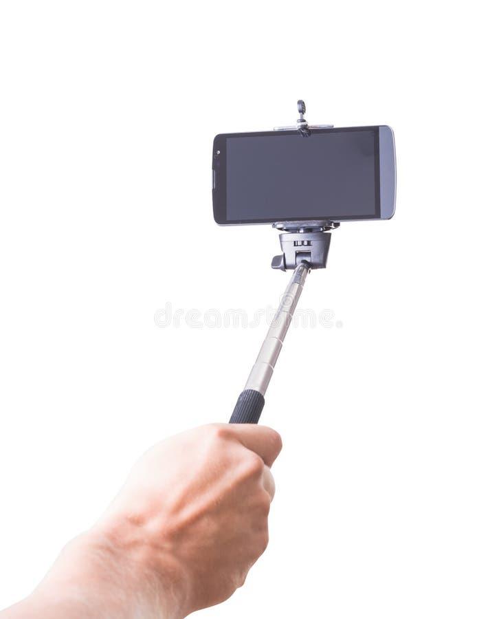 Monopod de Selfie photos stock