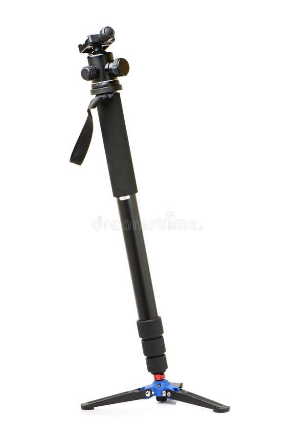 Monopod-Kamerastand stockbild