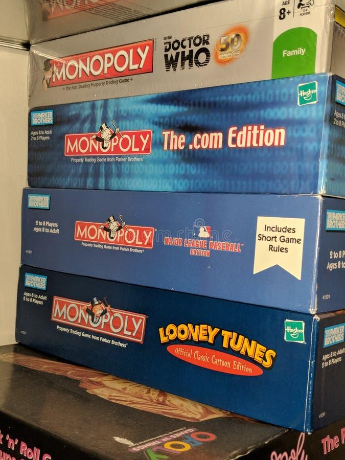 monopol obraz stock