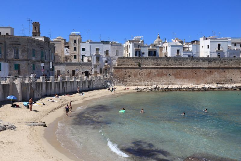 Monopoli, Italie photo stock