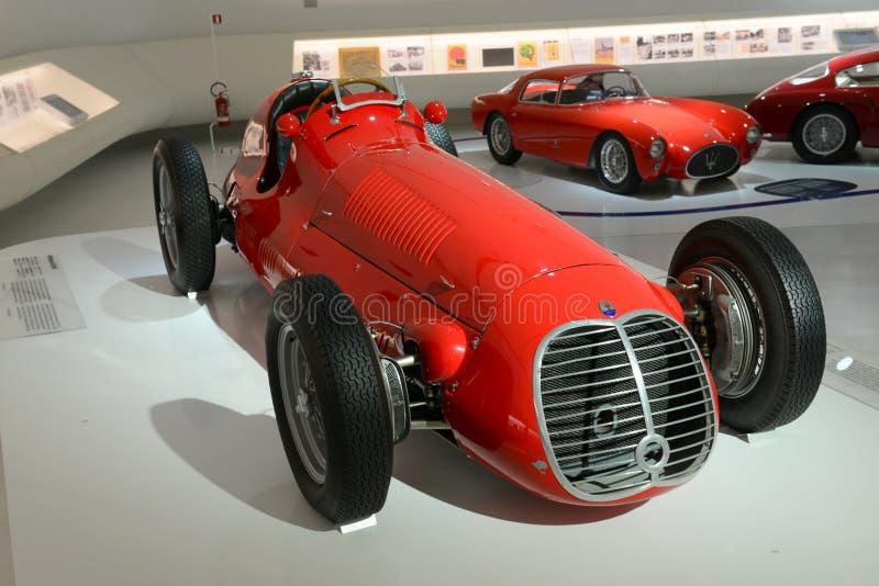 Monoposto Maseratis 4CLT/48 - hundertjährige Show Maseratis lizenzfreie stockfotografie
