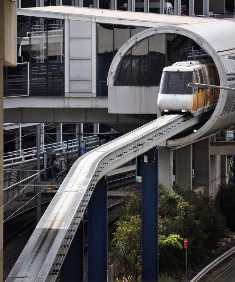 monorail arkivbilder