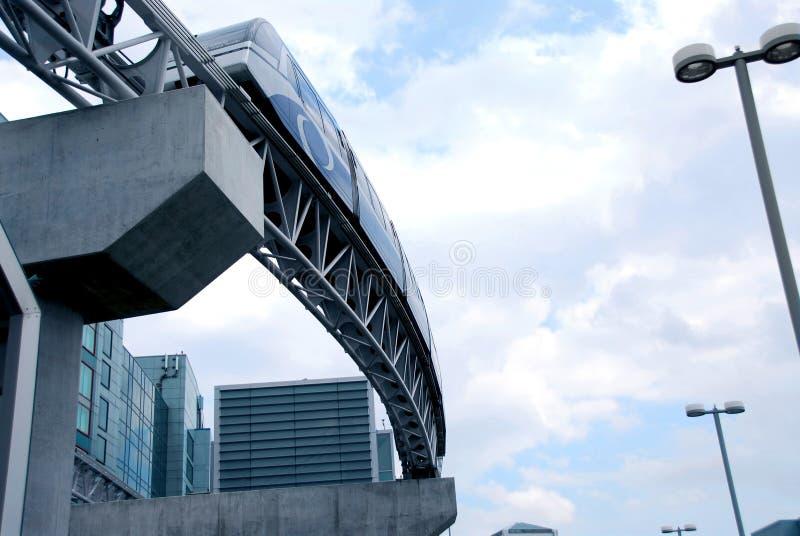 Monorail photographie stock libre de droits
