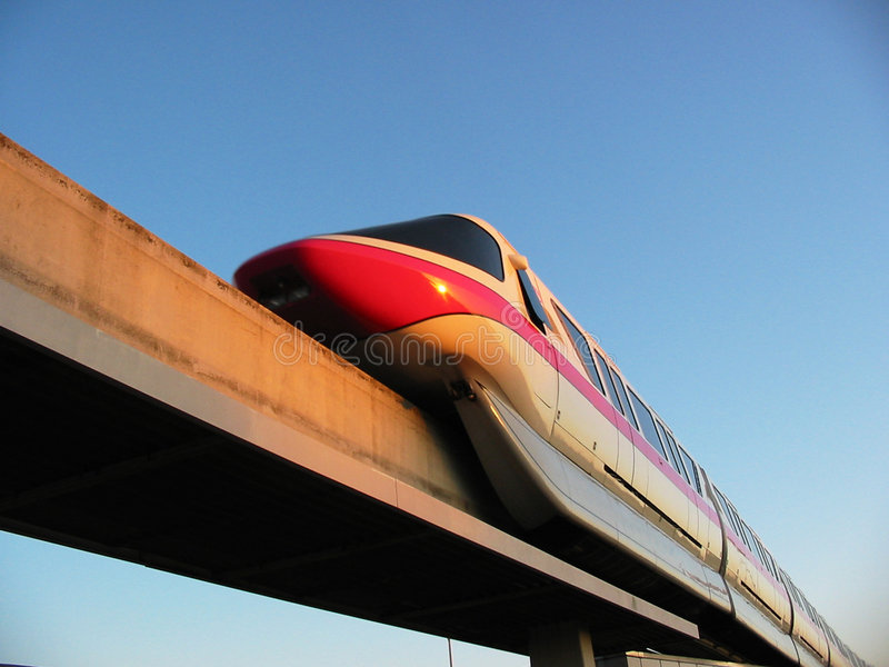 Download Monorail Stock Image - Image: 133831