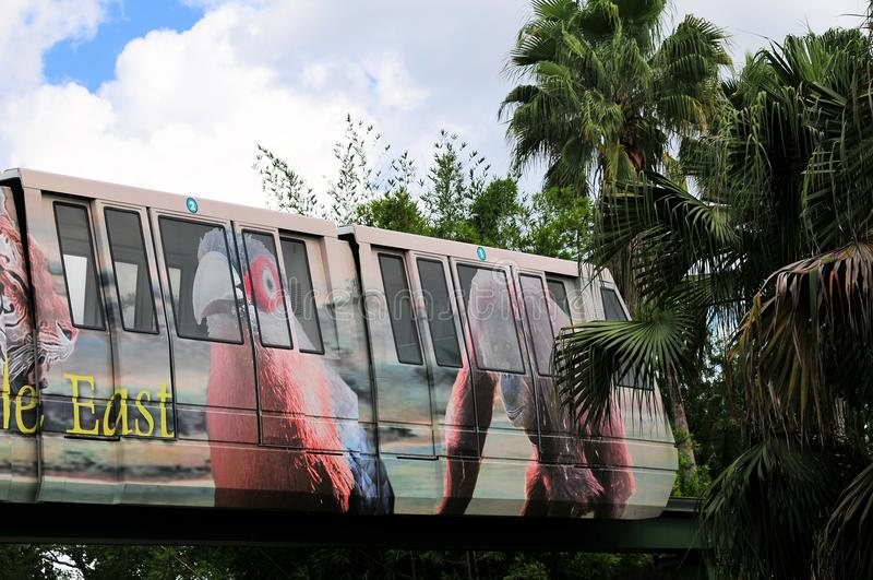 Monorail image libre de droits